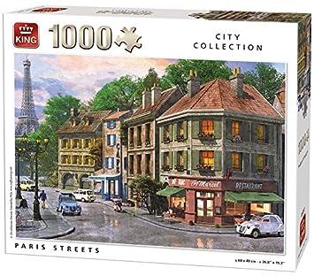 King City Collection Paris Streets 1000 pcs 1000pieza(s) - Rompecabezas (Jigsaw puzzle