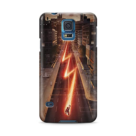 online store 19dee 1b40c The Flash for Samsung Galaxy S5 Hard Case Cover (flash6)