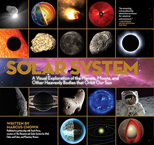 Solar System  A Visual Exploration Of All The Planets  Moons And Other Heavenly Bodies That Orbit Our Sun