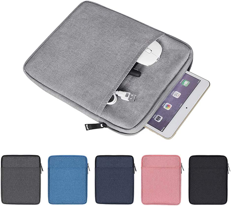 Pink 9.7 Inch Accessory And Charger Storage Bag AINAAN iPad//Tablet Sleeve Case ,Shockproof Portable Waterproof