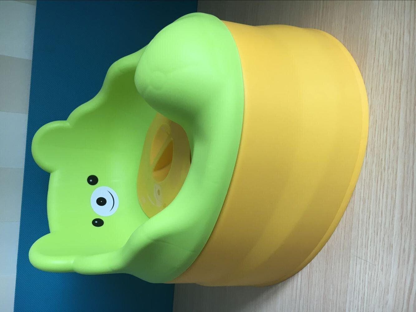 T/öpfchentrainingssitz f/ür Jungen und M/ädchen Reise T/öpfchen Abnehmbar Langlebig Baby Kleinkind Freundliches Urinal 3 in 1 Design Tragbare Baby Toilette Orange /& Gelb