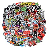 Cool Stickers Pack, 100 Pcs Vinyl Waterproof Stickers for Laptop, Luggage, Skateboard, Car, Motorcycle, Bicycle Decal Graffiti Patches (Stickers - X)