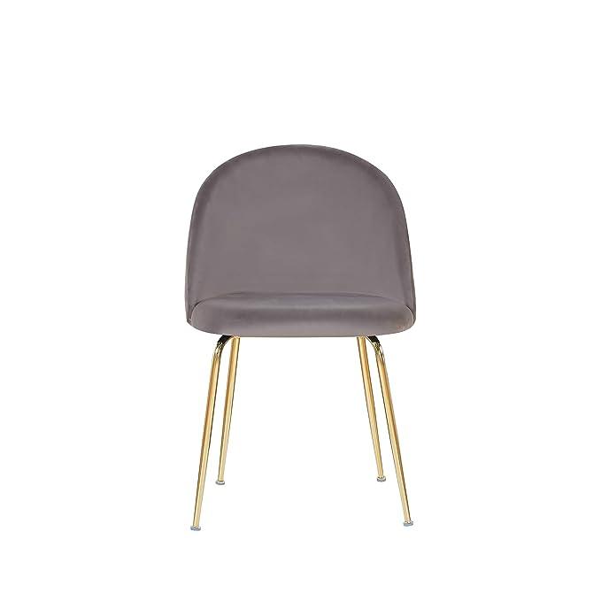 Amazon.com: Design Guild Milo - Silla de comedor con patas ...