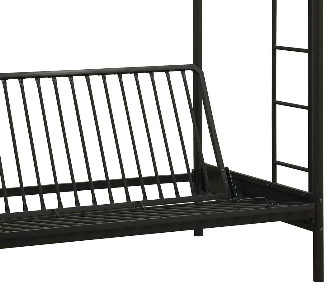 Bingua.com - DHP Over Futon Metal Bunk Bed, Black