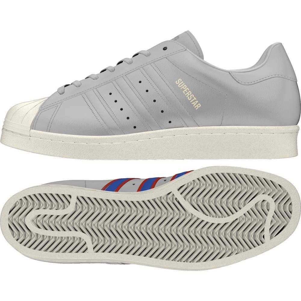 gris (Gricua   bleu   Rojsld 000) adidas Superstar 80s, Chaussures de Fitness Homme 48 2 3 EU