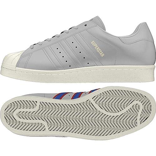 check out 1df30 c0e24 adidas Superstar 80s, Scarpe da Fitness Uomo, Grigio (Gricua Azul Rojsld