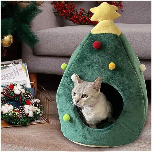 Jerarquía del animal doméstico, la cueva del gato árbol de Navidad ...