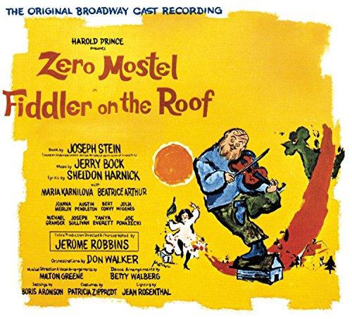 Fiddler on the Roof (Original Broadway Cast - Cast Wales