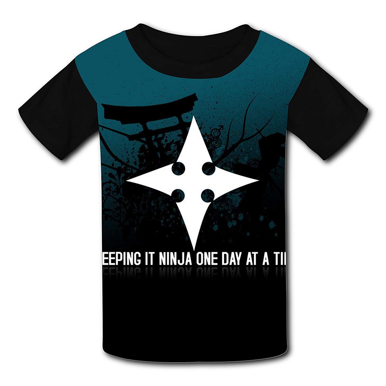 Amazon.com: YhouqukehTshirt Kids Darts of Ninja 3D Print ...
