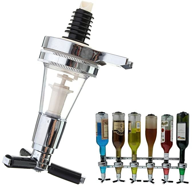Amazon.com   KINGSO Wall Mounted Wine Liquor Bar Butle Drink Bottle Dispenser 30ml: Iced Beverage Dispensers