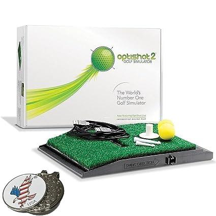Amazon.com : Optishot 2 Golf Simulator (Mac & PC), Comes with 1 ...