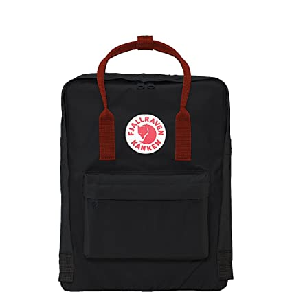 Fjallraven - Kanken Classic Pack, Heritage and Responsibility Since 1960,  One Size,Black aad77735a5