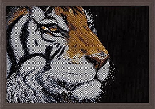 Design Works Crafts 2929 Orange Tiger, 12