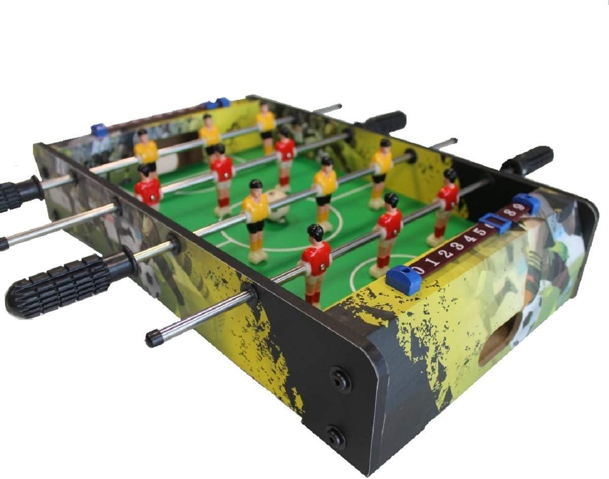 MoKo 100106 – Mini futbolín de Mesa con Bolas, Multicolor: Amazon ...
