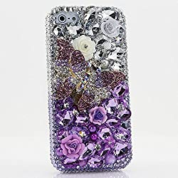 Genuine Crystals Protective iPhone Max Case Cover