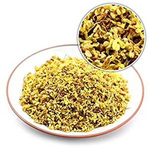 GOARTEA® 100g (3.52 Oz) Organic Golden Sweet Osmanthus Fragrans Natural Dried Flower Flora Herbal Health Chinese Tea