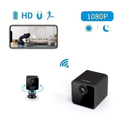 Spy Camera Wireless Hidden WiFi JOYTRIP Mini HD 1080P Large Battery Life Spy Hidden Cop Cam