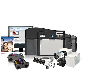 Amazon.com: Fargo dtc4250e Dual-Side Impresora de tarjetas ...