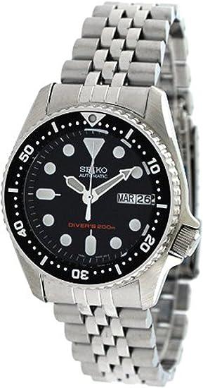 [セイコー]SEIKO腕時計自動巻きダイバーズブラック海外モデルMidsizeSKX013K2メンズ[並行輸入品]