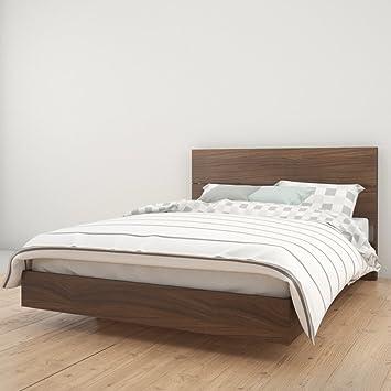 Nexera Alibi Platform Bed with Optional Modern Headboard