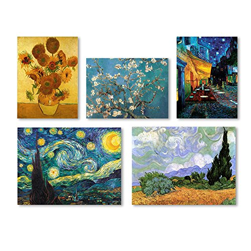 (Vincent van Gogh Wall Collection 5 Panel Set)