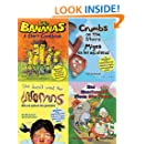 4 Food Books for Children: With Recipes & Finding Activities (4 Books for Kids)