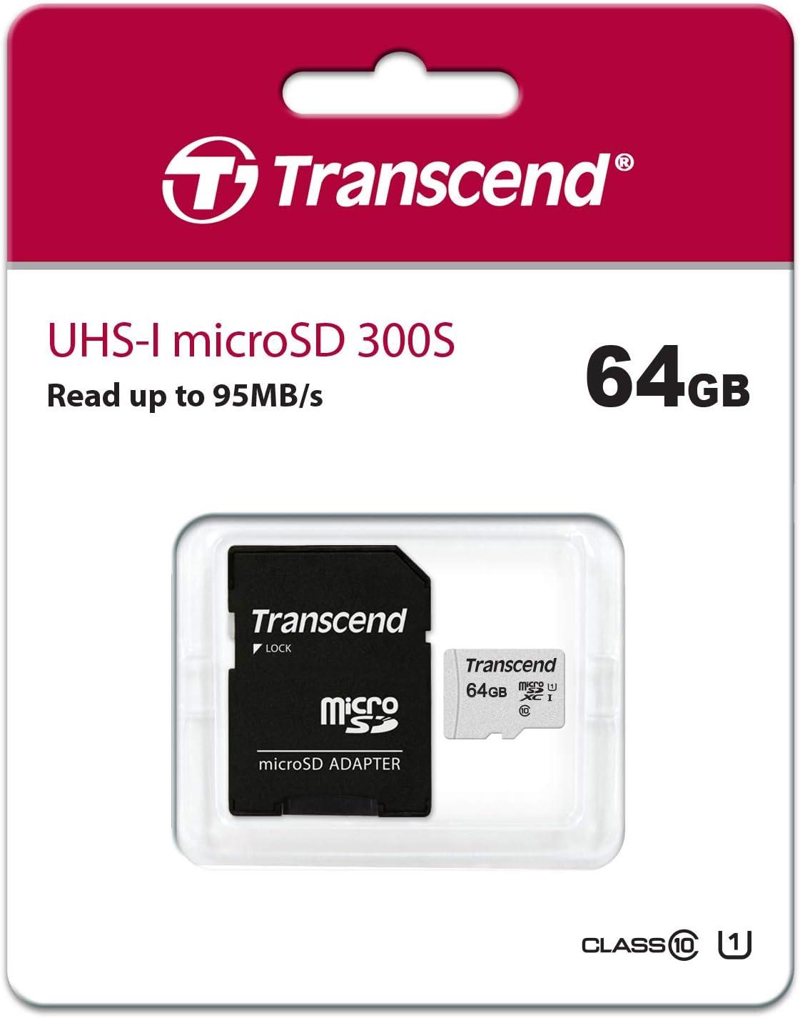 Transcend Highspeed 64gb Micro Sdxc Computer Zubehör
