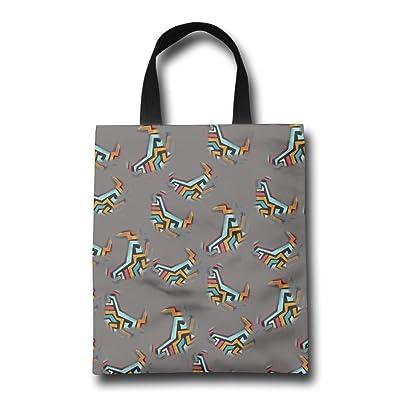 Abstract Tornado Women's Reusable Shopping Bag Cute Portable Shopping Bag