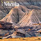 Nebraska, Wild & Scenic 2018 12 x 12 Inch Monthly Square Wall Calendar, USA United States of America Midwest State Nature