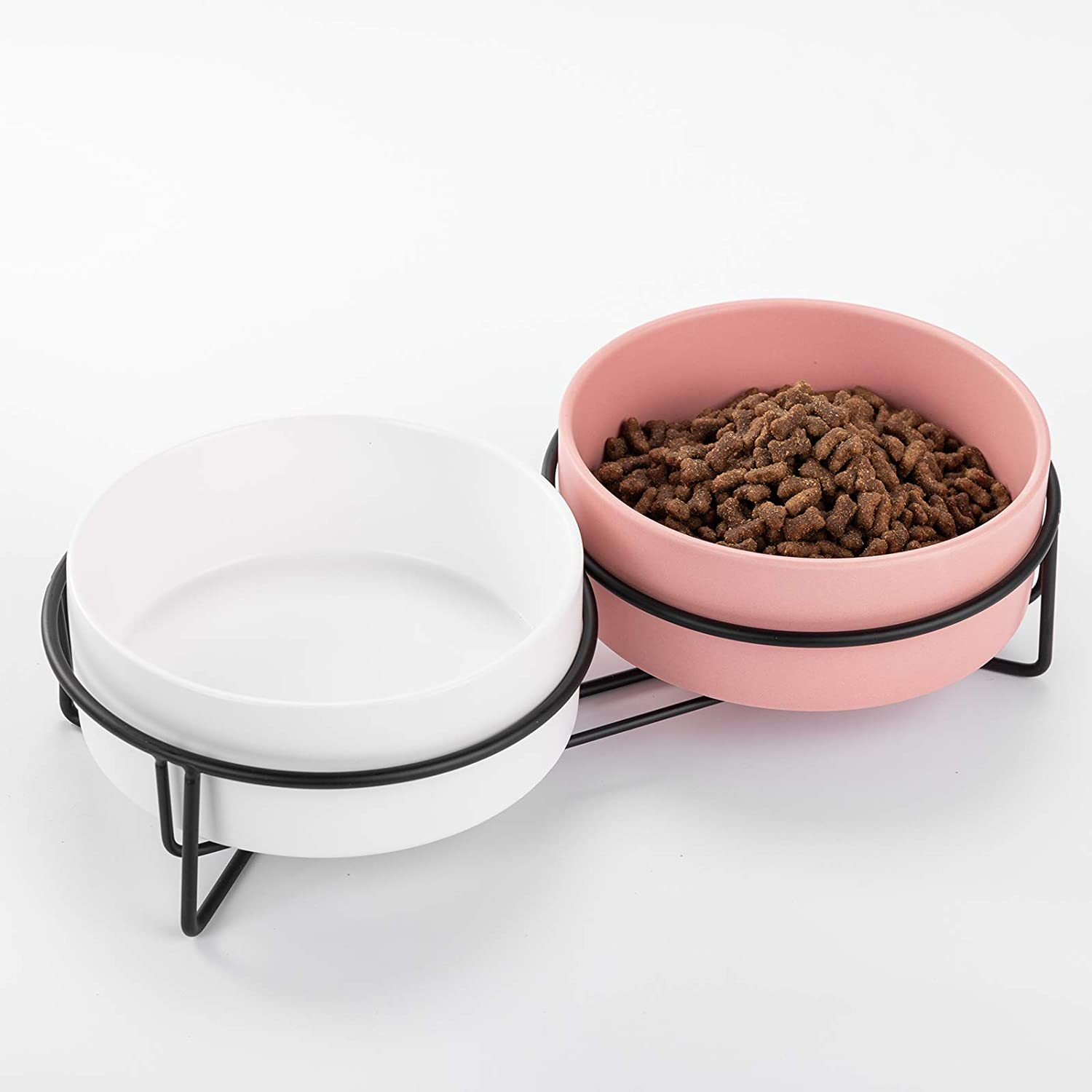 Ihoming Dog Bowl   Food Water Dish for Dogs and Cats, Ceramic Pet Bowl for Food & Water