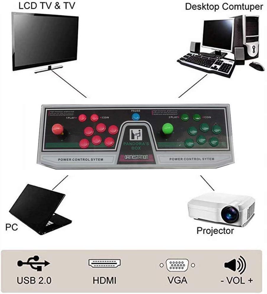 LP-LLL Pandora Box Arcade Console - Classic Arcade Game ...