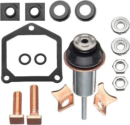 Kit de solenoide para solenoide kit de reparaci/ón de solenoide de motor de arranque