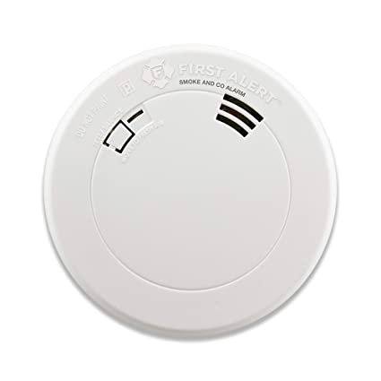 First Alert BRK PRC710V Talking Smoke and Carbon Monoxide Alarm with Built-In 10-Year Battery