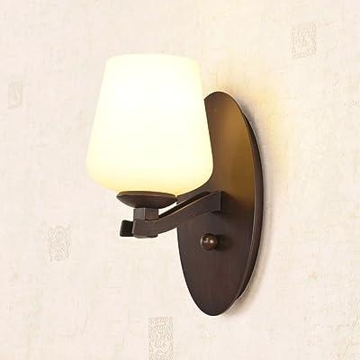 American Retro Lampe Murale Lampe De Fer Lampe Salon Chambre À Coucher Lampe Murale Fond Miroir Simple Allée Européenne Projecteurs Feux