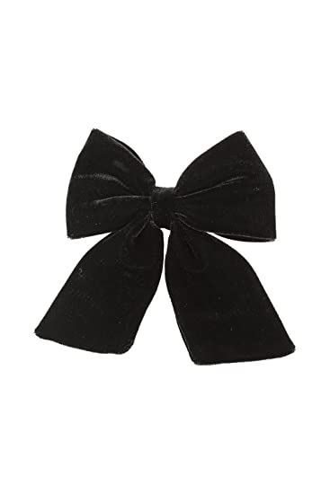 Amazon.com   Black Velvet Hair Bow BUY 1 GET 1 Free   Beauty 20e8c6ab941