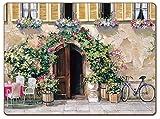 Cala Home 4 Premium Hardboard Placemats Table Mats, Tuscan Doorways, 4 Designs 81851
