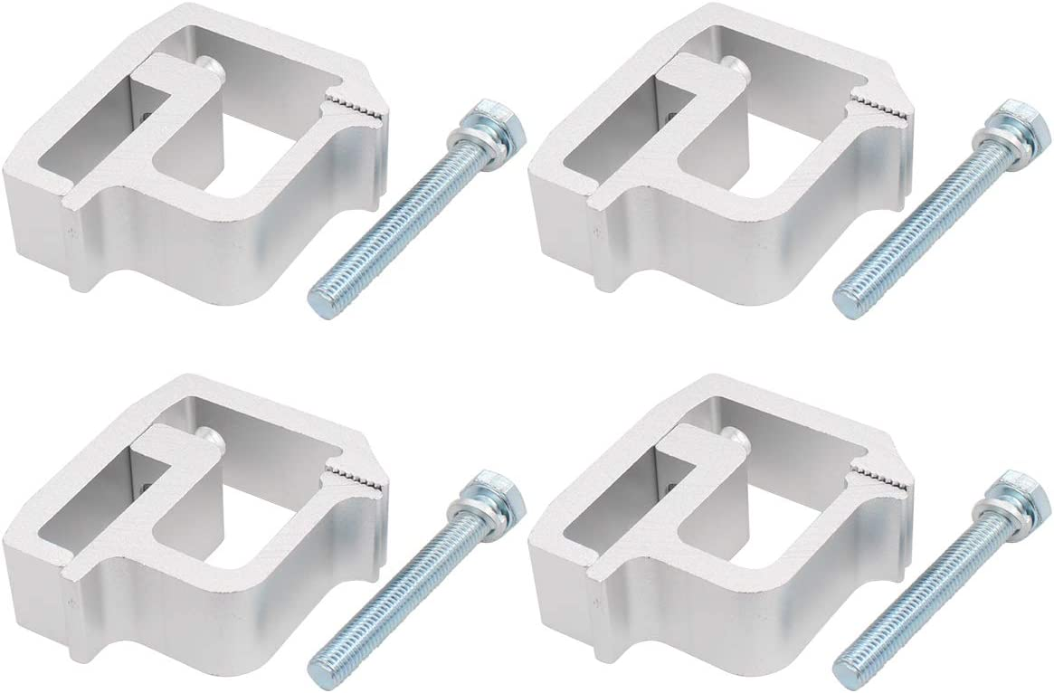 XtremeAmazing Truck Cap Topper Camper Shell Mounting Clamps Heavy Duty Pack of 4