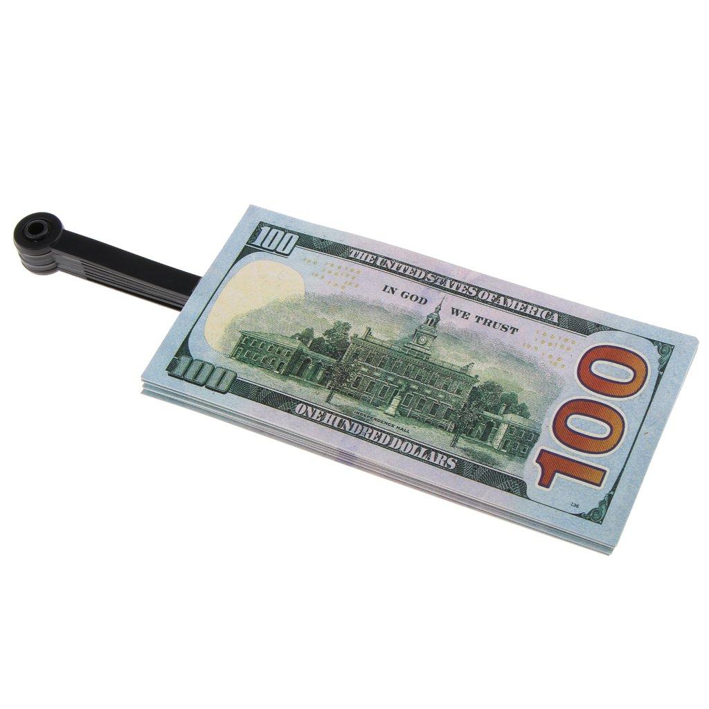 MonkeyJack Novelty Dollar Bill Hand Fan Summer Folding Fan Funny Party Accessory
