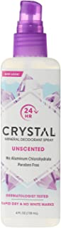 product image for Crystal Mineral Deodorant Spray, Unscented, 4.0 oz