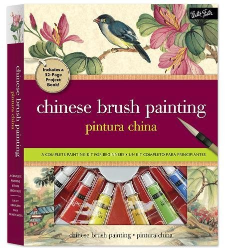 Chinese Brush Painting Kit: A complete painting kit for beginners Chinese Brush Painting Handbook