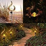 X-PREK Solar Garden Pathway Lights,LED Waterproof