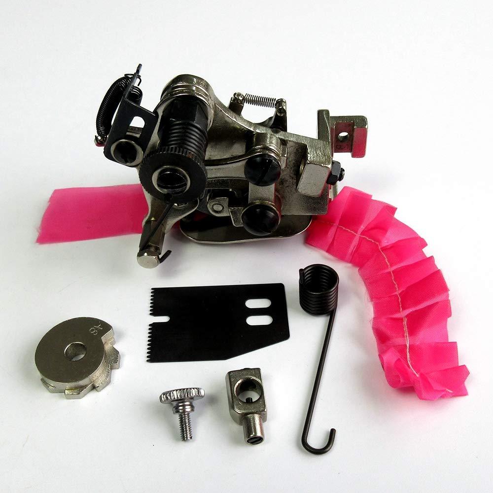 Accesorio de 4 o 8 volantes de punto G900E para m/áquina de coser de una sola aguja Juki Consew Singer