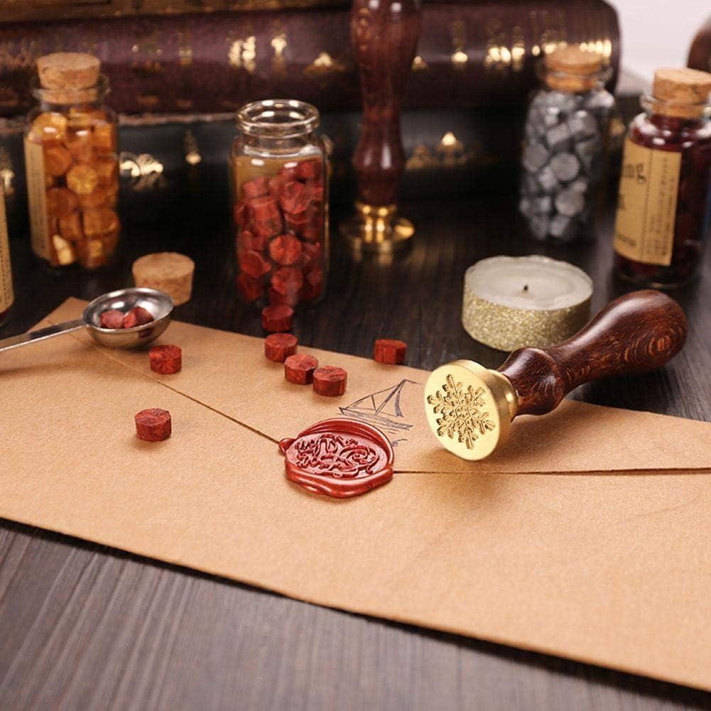 Tampon /à cire antique d/écoration artisanale 30mm//1.18 m/étal vierge sculpture en bois
