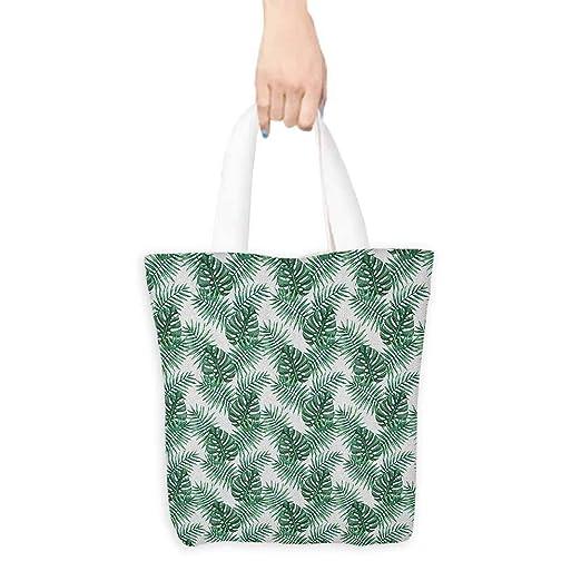 Bolsas reutilizables para la compra, ramas de acuarela ...