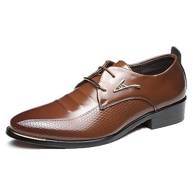 Oxfords Schuhe Business Männer Spitzen Shoes Mode