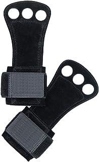 Healifty 1 paire Gants de musculation poids Gants de levage avec support de poignet pour Fitness Gym Cross Training Powerlifting taille S (Noir)
