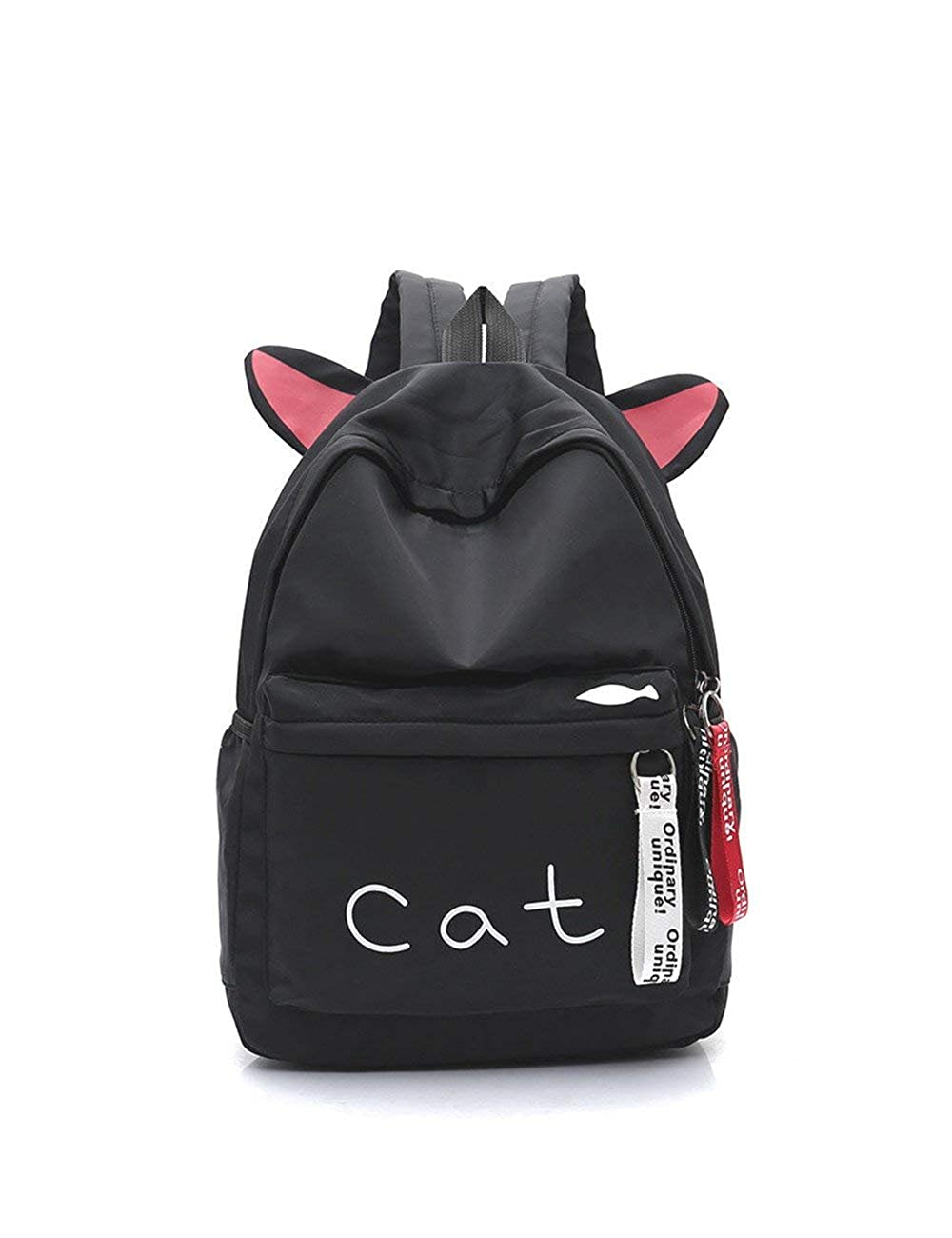Zhao Liang Womens Backpack Sweet Style Simple Letter Pattern Preppy Back Bag