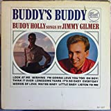 JIMMY GILMER BUDDY'S BUDDY HOLLY SONGS vinyl record