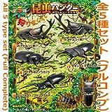 昆虫ハンター カブトムシ&クワガタ 2018 [全5種セット(フルコンプ)]