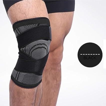 eecf58fbff Amazon.com: Balight Knee Sleeve, 3D Pressurized Fitness Running Cycling  Bandage Leg Protector Pad Elastic Nylon Sports Compression Knee Cap: Sports  & ...